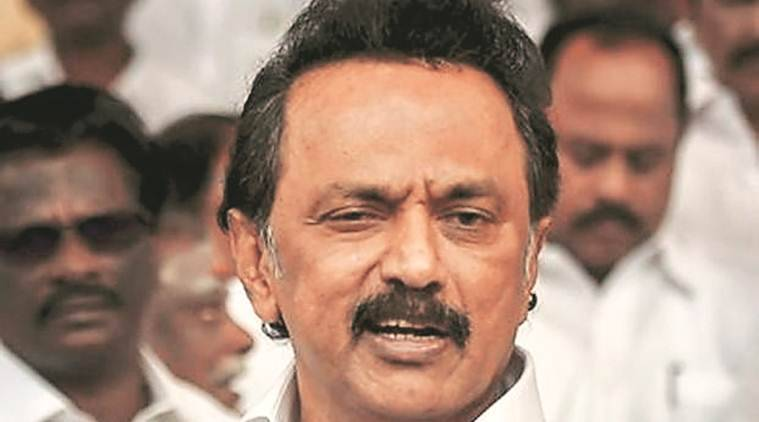 farmers rotests, chennai farmers protest, dmk, mk stalin, m k stalin, cauvery drilling plan, chennai news, indian express