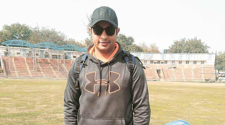 Ranji Trophy match, Ranji cricket, Ranji match, Mahesh Rawat Railways batting, railways captain, sports news, indian express news