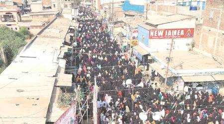 Women in Malegaon take out massive rally against CAA, NRC