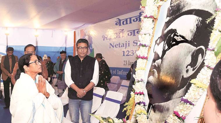 Mamata Banerjee, Mamata on Netaji caa, netaji ideals of secularism. netaji subhas chandra bose birth anniversary, Mamata netaji tribute, indian express