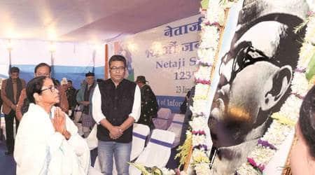 Mamata Banerjee, Mamata on Netaji caa, netaji ideals of secularism. netaji subhas chandra bose birth anniversary, Mamata netaji tribute, indian express