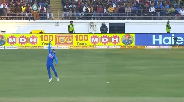 india vs australia, manish pandey catch, kl rahul stumping, india vs australia 2nd odi highlights, cricket news