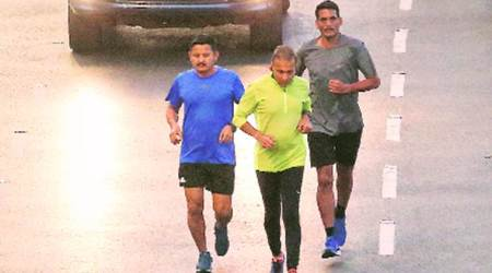 Mumbai Marathon registrations, Milind Soman, Anil Ambani, mumbai news, maharashtra news, indian express news