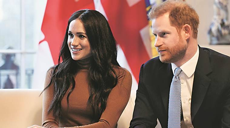 Meghan Markle, Prince Harry, Meghan Markle Royal Exit, Prince harry Royal Exit, megxit event, world news, indian express news
