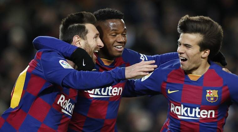 Lionel Messi gives Quique Setien winning start with Barcelona