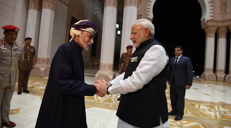 Oman king death, Oman sultan passes away, Sultan Qaboos bin Said al Said, Sultan Qaboos death, Sultan Qaboos dead, India Oman relations, India news, Indian Express
