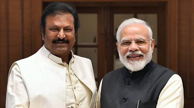 narendra modi and mohan babu