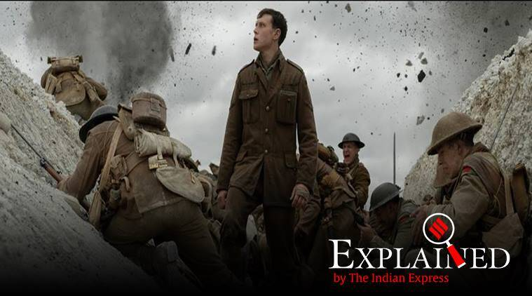 1917 movie, what is 1917 movie about, 1917 movie review, Operation Alberich, what was Operation Alberich, world war 1, Treaty of Versailles, indian express indian express explained