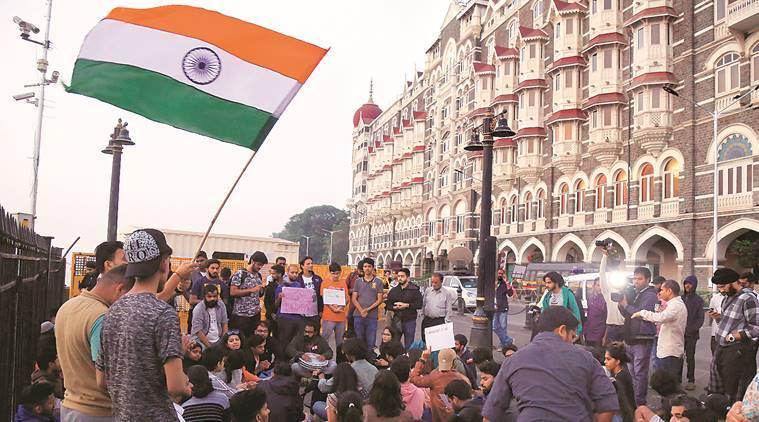 Jnu attack, IIT bombay condemn jnu violence, gateway of india, mumbai news, mumbai city news, maharashtra news, indian express news