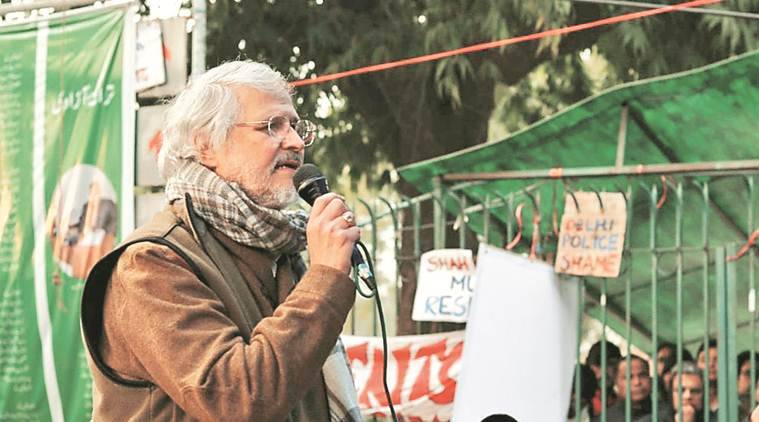 najeeb jung, najeeb jung at caa protests, caa protests delhi, jamia caa protests, jamia millia islamia, delhi news