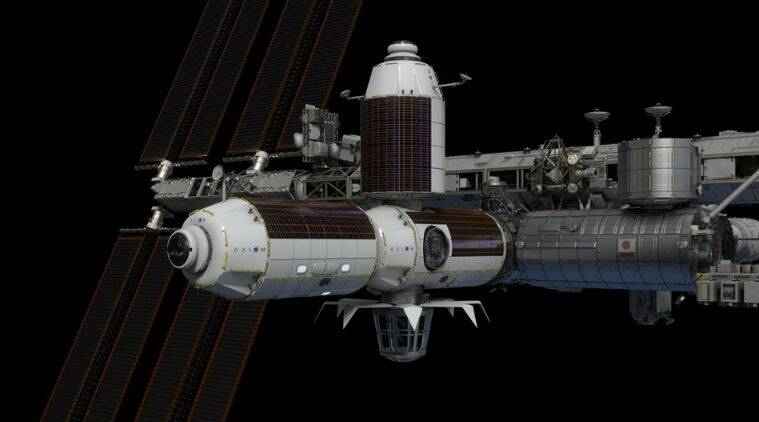 NASA, NASA ISS, NASA international Space station, NASA ISS commercial module, habitable commercial module ISS, Axiom Space of Houston