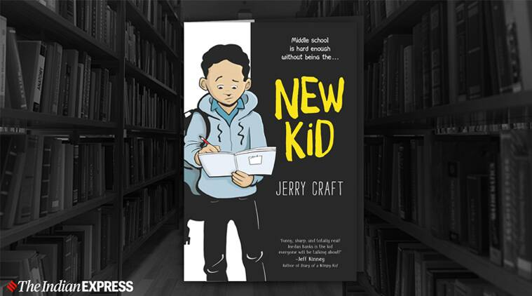 new kid, new kid graphic novel, new kid graphic novel newsbery, graphic novel wins newsberry, indian express, indian express news