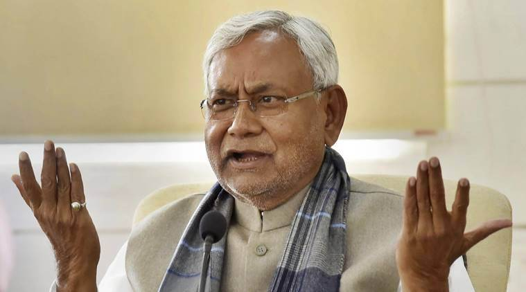 Nitish Kumar on nrc, Bihar cm on nrc, Citizenship Amendment Act, CAA protests, National Register of Citizens, CAA NRC protests, Indian Express