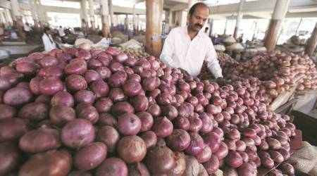 Maharashtra Onion price, onion price downfall, onion price rate, onion markets, pune news, maharashtra news, indian express news