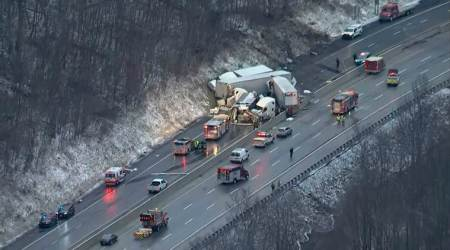 5 Dead and 60 Injured in Pennsylvania Turnpike Multi-Vehicle Crash, Officials Say