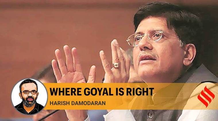 Where Piyush Goyal is right: investments in infrastructure is different from money brought in to finance losses
