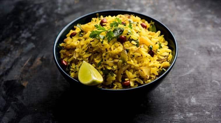 Image result for eating poha,nari