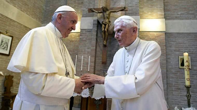 Pope Benedict XVI breaks silence to reaffirm priest celibacy