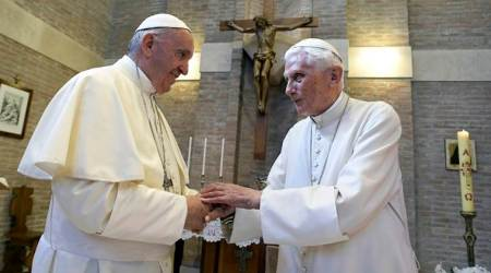 Pope Benedict XVI breaks silence to reaffirm priest celibacy