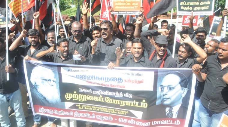 Periyar remark: Protesters attempt to lay seige to Rajinikanth's house, security beefed up