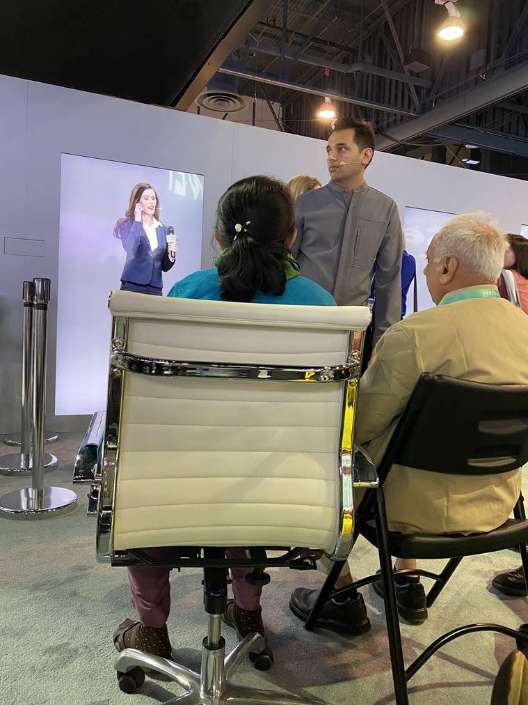 ces 2020, pranav mistry ces 2020, neon life, Consumer Electronics Show (CES), NEONs, NEONs ces, Star Labs samsung, ces news, latest news, tech news, indian express