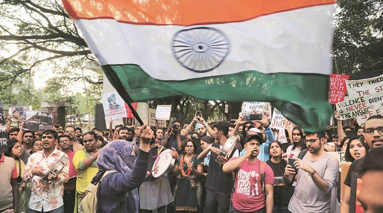 Pune news, pune city news, Citizenship amendment act, caa protest, pune caa protest, poetic protest, maharashtra news, indian express news