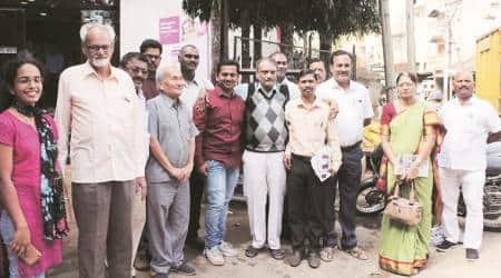 Shripal Sabnis, Marathi Sahitya Sammelan, Karnataka Police, pune news, pune city news, maharashtra news, indian express news