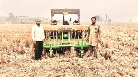 For 23,500 subsidized stubble mgmt machines, state gets 12,000 applications