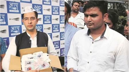 In Rajinder Nagar, fight between young Turks: AAP's Raghav Chadha vs Cong's Rocky Tuseed