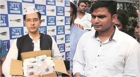 In Rajinder Nagar, fight between young Turks: AAP's Raghav Chadha vs Cong's Rocky Tuseed