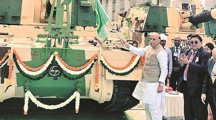 Defence budget, Rajnath Singh, Armoured Systems Complex, Defence budget India, Indian express