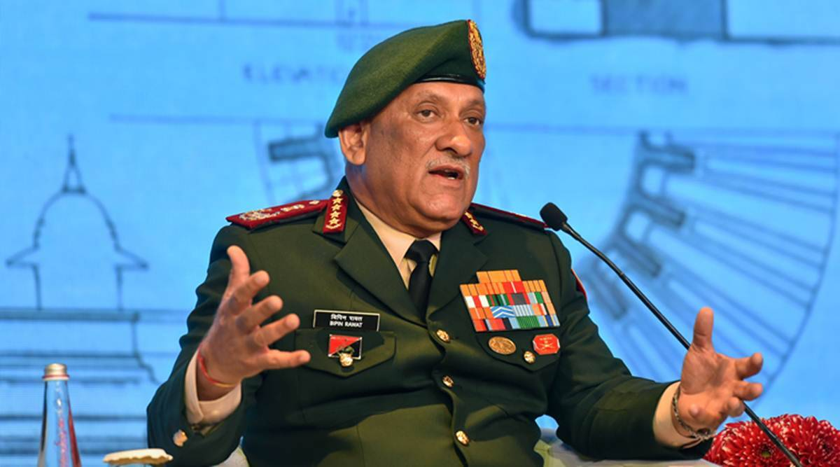 Bipin Rawat, LAC tensions, India china border dispute, ladakh, China PLA, Bipin Rawat on current Ladakh situation, India news, Indian express