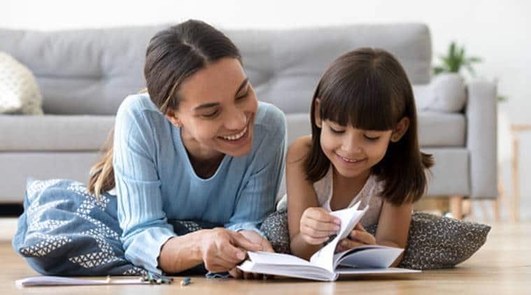 reading books, parenting
