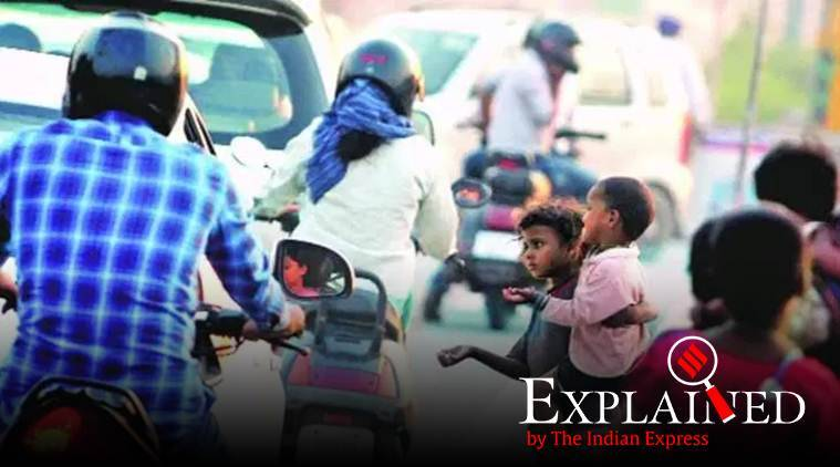 President Donald Trump, Trump on Poverty in India, Trump india visit, Narendra Modi, indian express explained, indian express news