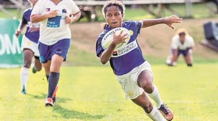 sweety kumari, sweety kumari rugby, rugby, bihar girl rugby, youngest rugby player, indian express news
