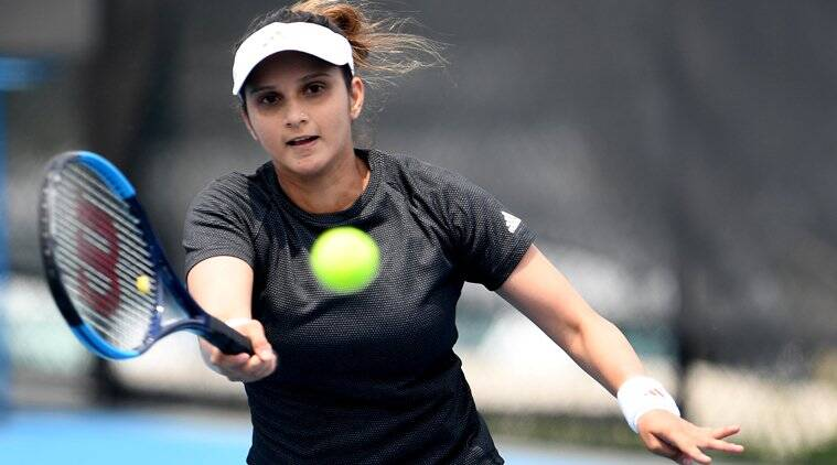 Sania Mirza made a winning return to the WTA circuit