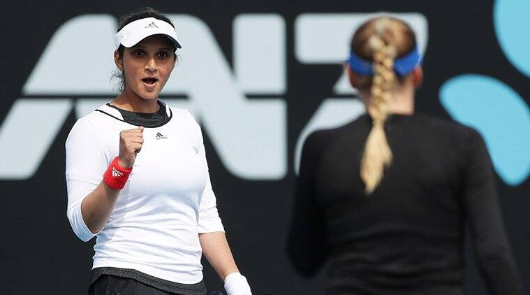 Sania wins doubles title in Hobart International