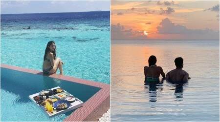 sara ali khan vacation album maldives