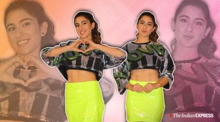sara ali khan, sara ali khan love aaj kal, sara ali khan love aaj kal movie, love aaj kal trailer, sara ali khan fashion ,sara ali khan latest photos, celeb fashion ,indian express, lifestyle