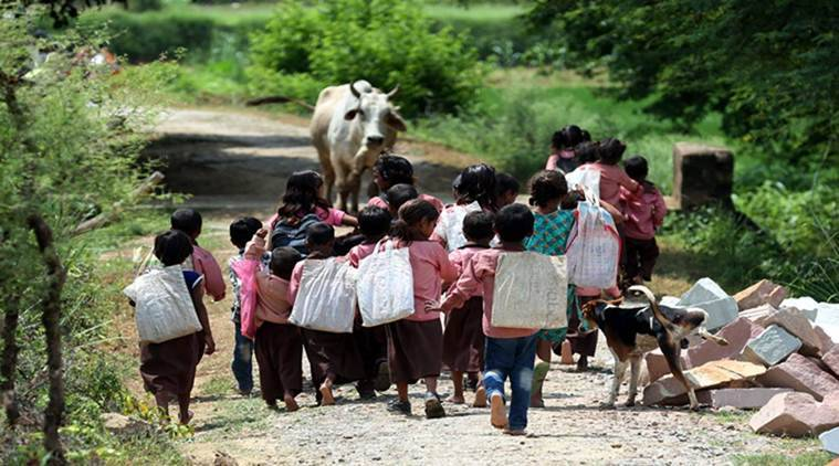 Haryana: One in 4 class 1 students can't read letters