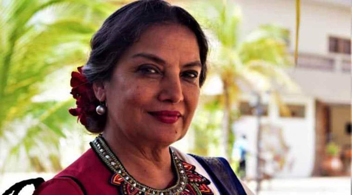 Shabana Azmi accident, Shabana Azmi driver booked, mumbai news, maharashtra news, indian express