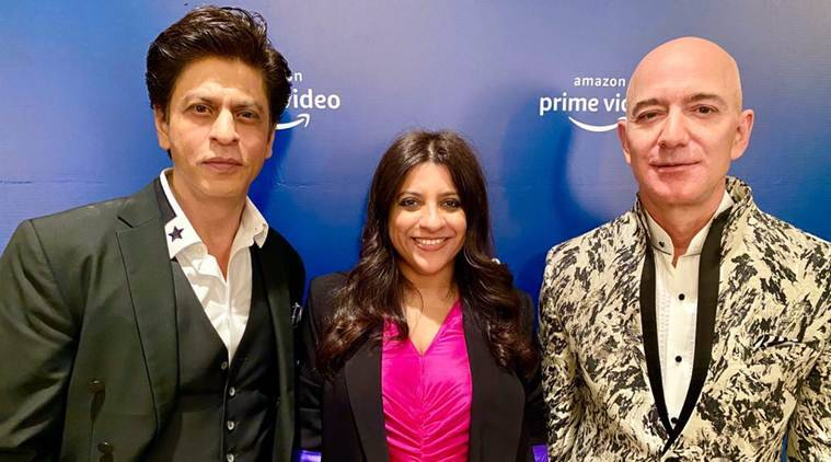 shah rukh khan with jeff bezos