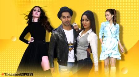 shraddha kapoor, varun dhawan,street dancer promotions, sharaddha kapoor promotion looks, shraddha kapoor recent photos, shraddha kapoor photos, indian express, indian express news
