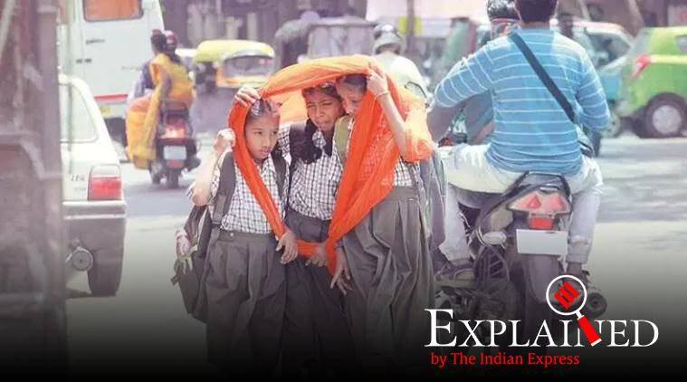 IMD, India Meteorological Department, India second warmest, Indian summers, summer in India, summer temperatures in India, India temperatures, India weather, weather in India, Express Explained, Indian Express