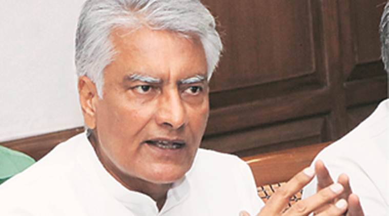 Sunil Jakhar, O P Dhankar, water shortage, Punjab news, Indian express news