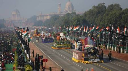 Republic Day, Republic Day tableaux, Republic Day 2020, 2020 Republic Day, Maharashtra tableau Republic Day, West Bengal tableau Republic Day, India news, Indian Express