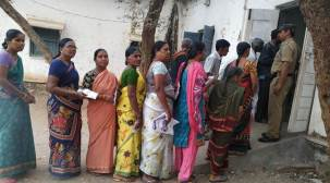 Telangana Municipal Elections polling underway