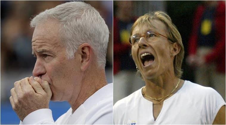 Australian Open: Martina Navratilova & John McEnroe sorry for breaking protocol