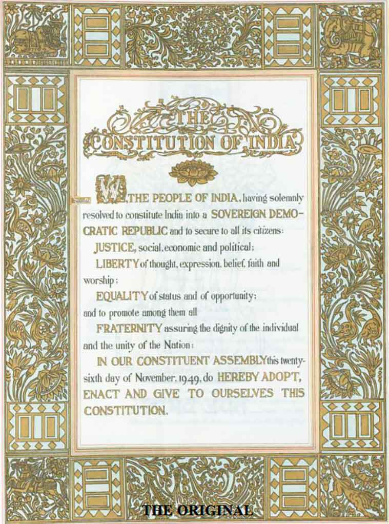 indian preamble, indian constitution, indian republic day, republic day 2020