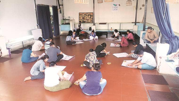 Mahabharata within, theatre workshop, Naveen Vasudevan, Auroville, indian express talk, indian express news